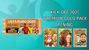 PRÉMIUM GOLD LIMITEDEK! | Panini UEFA Euro 2020 | 2021 KICK OFF | PREMIUM  GOLD PACK