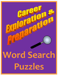 career exploration preparation word search activities career  career exploration preparation word search activities