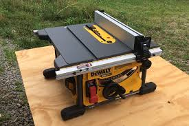 diy dewalt table saw stand. dewalt flexvolt table saw dcs7485t1 \u2013 let \u0027er rip with 60 volts - home fixated diy dewalt stand