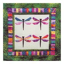 BALI DRAGONFLY Quilt Pattern – Foundation Paper Piecing Technique ... & BALI DRAGONFLY Quilt Pattern – Foundation Paper Piecing Technique –  Finished Size 27 x 27 – Adamdwight.com
