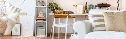 pallet furniture desk. Stock Photo - White Room With Armchair, Hammock, Desk, Chair And Pallet  Furniture Desk N