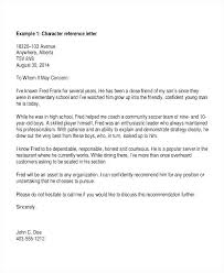 Letter Of Recommendation For A Judge Leniency Letter Examples Ijbcr Co