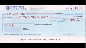 How Will You Write A Cheque Correctly Banking Basics In Tamil Youtube