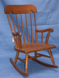 childrens rockers baby rocking chair vintage child wood concept wooden