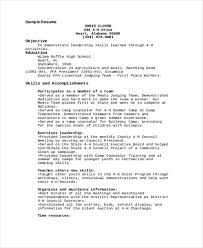Social Media Resume Examples 4 H Resume Examples Resume Examples Resume Examples Resume