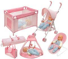 dolls furniture set. 6 Images Of 1 Set New Small Sweet Baby Crib For Barbie Girls Doll Furniture Kelly Doll\u0027s Kids Bed (awesome Sets #5) Dolls
