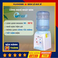 Cây nước nóng lạnh mini FujiE WD1080E, bình lọc tủ máy lọc nước nóng lạnh  uống an toàn công nghệ Nhật Bản