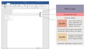 Newsletter In Word Anleitung Zum Newsletter Programm Newsletter Mit Microsoft Word