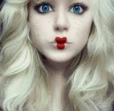 halloweeen makeup on makeup tutorials makeup and scary doll makeup