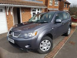 Mitsubishi Outlander 2008 Equippe Grey 4x4 Diesel 2.0 litre (4 or ...