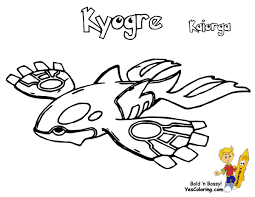 382 Pokemon Kyogre At Coloring Pages Book For Kids Boys 383 Groudon