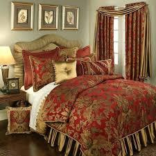 red comforter sets full size king size red comforter sets damask bedding save on luxury red comforter sets