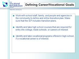 Define Vocational School Transition What Do You Need To Prepare For As You Become An Adult