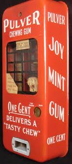Vending Machine Robbery Stunning Pulver Antique Chewing Gum Vending Machine Cop Robber