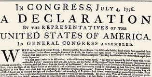 Dear George The Declaration Of Independence As The Greatest