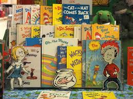 books by dr seuss are por with children and pas