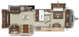 eagle travel trailers 322rlok floorplan