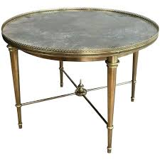 round brass coffee table round brass coffee table with faux marble top attributed to marble coffee round brass coffee table