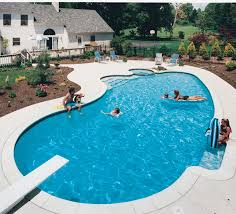 Fiberglass Swimming Pool Designs Awesome Decorating Ideas