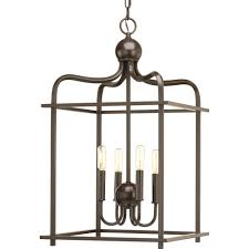 crosby collection large pendant light. Assesmbly Hall Collection 4 -Light Antique Bronze Pendant Crosby Large Light