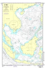 Nga Nautical Chart 508 South China Sea