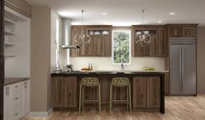 Rustic Hickory Wood Cabinets From Dura Supreme Cabinetry Hickory I92
