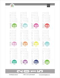 Year At A Glance Free Printables For The Happy Planner