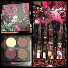 disney makeup brushes. beautifully disney unlock the spell shadow palette and brushes makeup