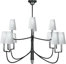 chandeliers antique nickel chandelier visual comfort rt light inch antique nickel antique nickel chandelier
