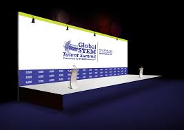 Company Backdrop Design Design Backdrop Roll Up Trade Show Or Retractable Banner So