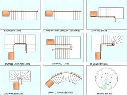 floor plan symbols stairs. Stair Floor Plan Types Spiral Staircase Symbol Intended For Decor 12 Symbols Stairs