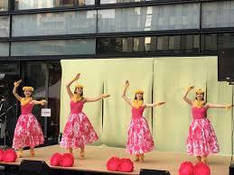 淡路町ワテラスで夏祭り 屋台やハワイアンズ協賛のショーも 神田
