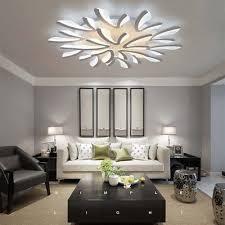 4 of 12 dandelion modern led acrylic ceiling light chandeliers living room bedroom lamp