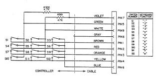 atari keyboard controller keyboard controller wiring diagram