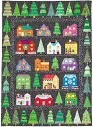 Quilt Patterns and Free Quilting Ideas at AllCrafts.net! & First Snow Christmas Series Quilt Adamdwight.com