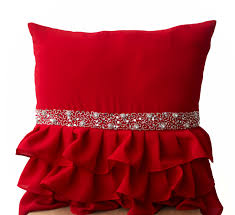 inspirations beautiful color red throw pillows with awsome