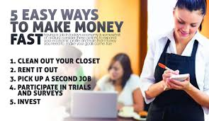 5 Easy Ways To Make Money Fast Makemoneyinlife Com