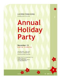 Creative Office Holiday Party Invitation Wording Ideas