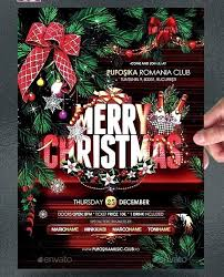 Club Flyer Templates Free Christmas Club Flyer Template Free Topgamers Xyz