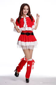 santa claus women dress tunic christmas party dress xmas navidad