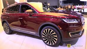 2019 Lincoln Nautilus Color Chart 2019 Lincoln Nautilus Exterior And Interior Walkaround 2018 New York Auto Show