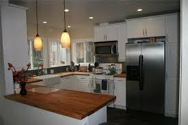 Small Modern Kitchen Small Modern Kitchen Decoration With Black Brick Backsplah And