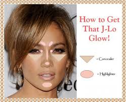 apply highlighter on select areas to dupe the jennifer lopez j lo glow makeup