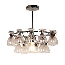 5 beautiful wine glass light fittings