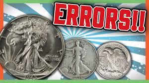 1935 Silver Half Dollar Value Chart Rare Walking Liberty Half Dollars Worth Money Error Coins