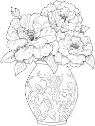 coloring pages flowers for adults 2. Interesting Coloring Adult Coloring Pages Flowers 2 U2026 More Intended Pages For Adults O