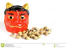 Japanese Setsubun Setsubun Stock Image Image Of Spring Scary Goblin 49323587