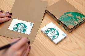 Gift cards are the same as the rewards card (msr = my starbucks rewards). Starbucks Gift Cards Starbucks Coffee Company
