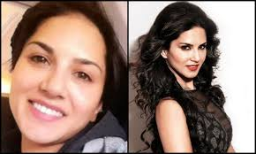 2 sunny leone pictures of stani actress without makeup