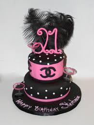 Girlie Girl 21st Birthday Cake Cakecentralcom